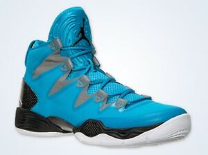 9f60e73b5206 Air Jordan XX8 SE 28 Shoes Mens 12.5 Dk Powder Blue White- CL Gray ...