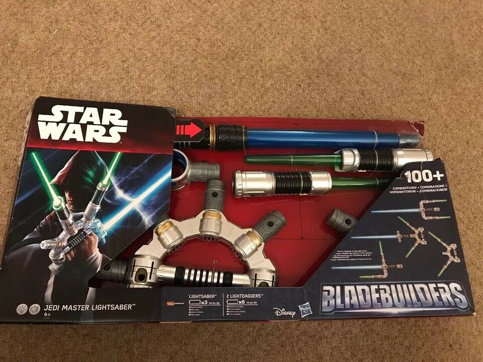 BLADE BUILDERS JEDI MASTER LIGHTSABER STAR WARS EPISODE VII - THE FORCE AWAKENS