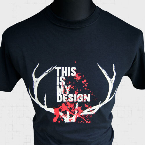 This is My Design T Shirt Hannibal Lecter TV Series Will Graham Cool Cult Tee