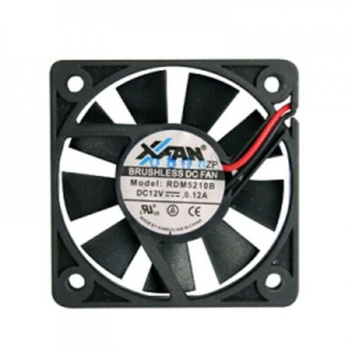 52mm x 52mm x 10mm Fan for Merit Evo Games -2 Wire Connector