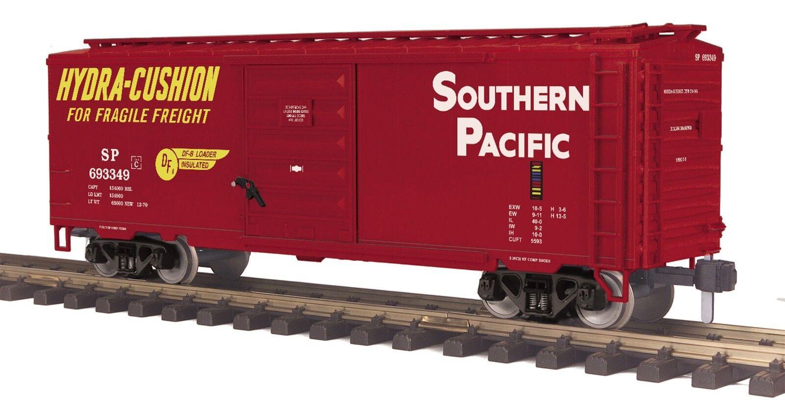70-74102 MTH ONE-GAUGE Southern Pacific (Hydra Cushion) 40' Box Car