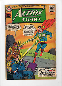 Action-Comics-291-Aug-1962-DC-Very-Good