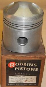 1950-55-Matchless-G80CS-500cc-NOS-82-5mm-010-034-bore-Robbins-RACE-piston-ONLY-11