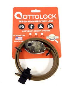 OttoLock-Cinch-Bicycle-Combination-Lock-w-Kevlar-amp-Steel-30-034-Camo