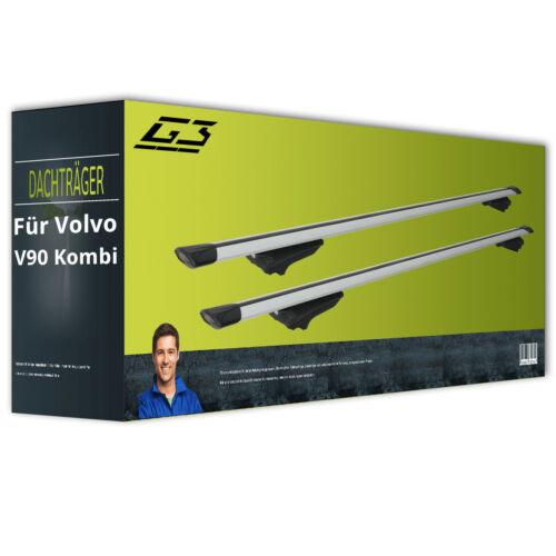 Dachträger G3 Clop airflow für Volvo V90 Kombi II Typ 235// 236 Aluminium