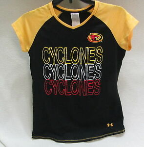 2e020693040 Iowa State Cyclones Under Armour Heat Gear loose fit shirt youth ...