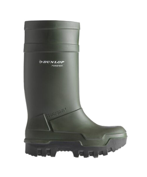 Dunlop Full Safety Thermo Plus Green -40c Work Mens Wellington Boots UK5-13