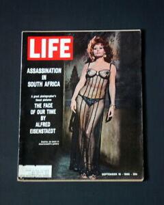 LIFE MAGAZINE SEPTEMBER 16 1966 SOPHIA LOREN