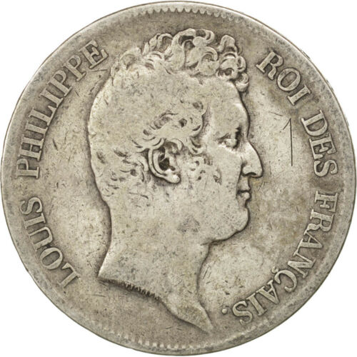 #44385 FRANCE, LouisPhilippe, 5 Francs, 1831, Lille, KM #737.4, VF2025