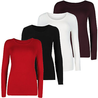 M/&S Ladies Extra Warmth Thermal Heatgen Plus Long Sleeve Turtleneck T-Shirt Top