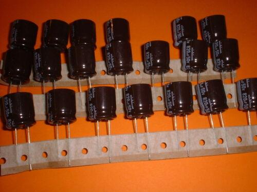 20x 820µf//50v Elko 105 ° C 18x20mm RM 7,5mm 820uf Nichicon