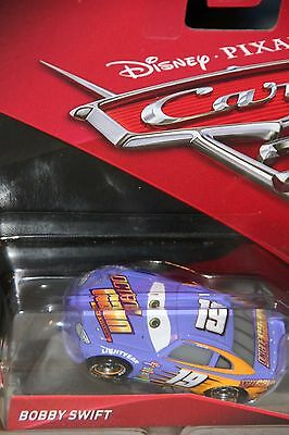 Disney Pixar World of Cars 3 Bobby Swift Octane Gain #19 1:55 New Loose No Pack