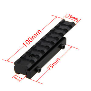9-11mm-Dovetail-to-20mm-Weaver-Picatinny-Rail-Scope-Mount-Adapter-Converter