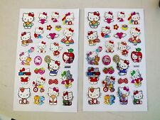 75 HELLO KITTY FOIL SCRAPBOOK RED ENVELOPE STICKER CHINESE BIRTHDAY PARTY CRAFT