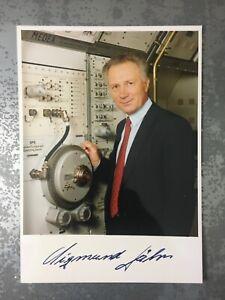 Sigmund Jähn Autogramm Berlin NVA DDR Kosmonaut Potsdam Weltraum Signiert !