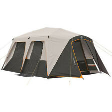 Instant Camping Tent 9 Person Large 15' x 9' Fishing Family Size Cabin Sleeping