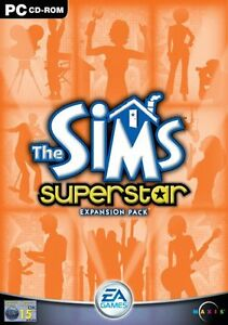 The-Sims-Superstar-Expansion-PC-Game-Windows-2003-Video-Computer-CD-Manual-Star