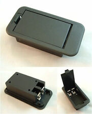 9v BATTERY BOX - 9 Volt Compartment for Active Electronics - Guitar & Bass Parts