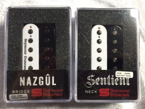 Seymour Duncan Nazgul /& Sentient 6 String Zebra Black /& White Humbucker Set