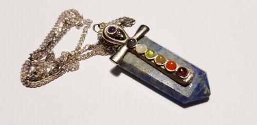 Edelstein Chakra Pendel Anhänger B-WARE verschiedene Sorten pendolo pendulo