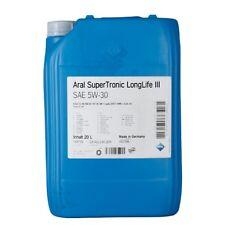 Aral SuperTronic LF III 5W-30 Motoröl 20 Liter VW AUDI 504.00 507.00 Longlife 3
