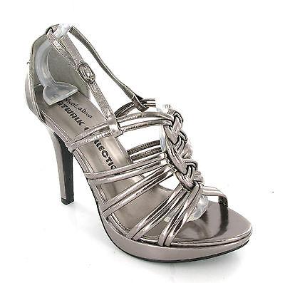 Viva La Diva Zapatos Sandalias De Plataforma Tacones Con Tiras Tacones para mujer UK4-8