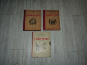 le-mobilier-breton-le-mobilier-bas-breton-le-mobilier-normand-lot-3-livres