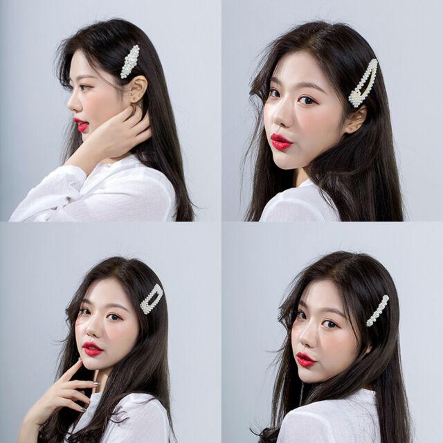 6Pcs//Set Pearl Hair Clip Barrettes For Women 2019 Fashion Hairpins Accessories
