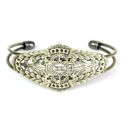 Pack of 2 Copper Bracelet Component with Filigree Base Bracelet blanks