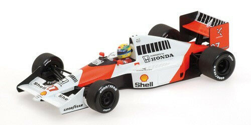 1 18 Minichamps - 1990 campeón del mundo-McLaren Honda MP4-5B - Ayrton Senna