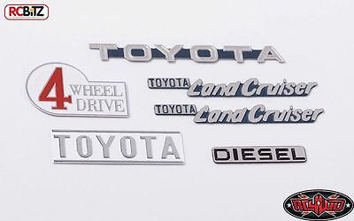 RC4WD Z-B0142 Complete Graphic Decal Set for Cruiser Body