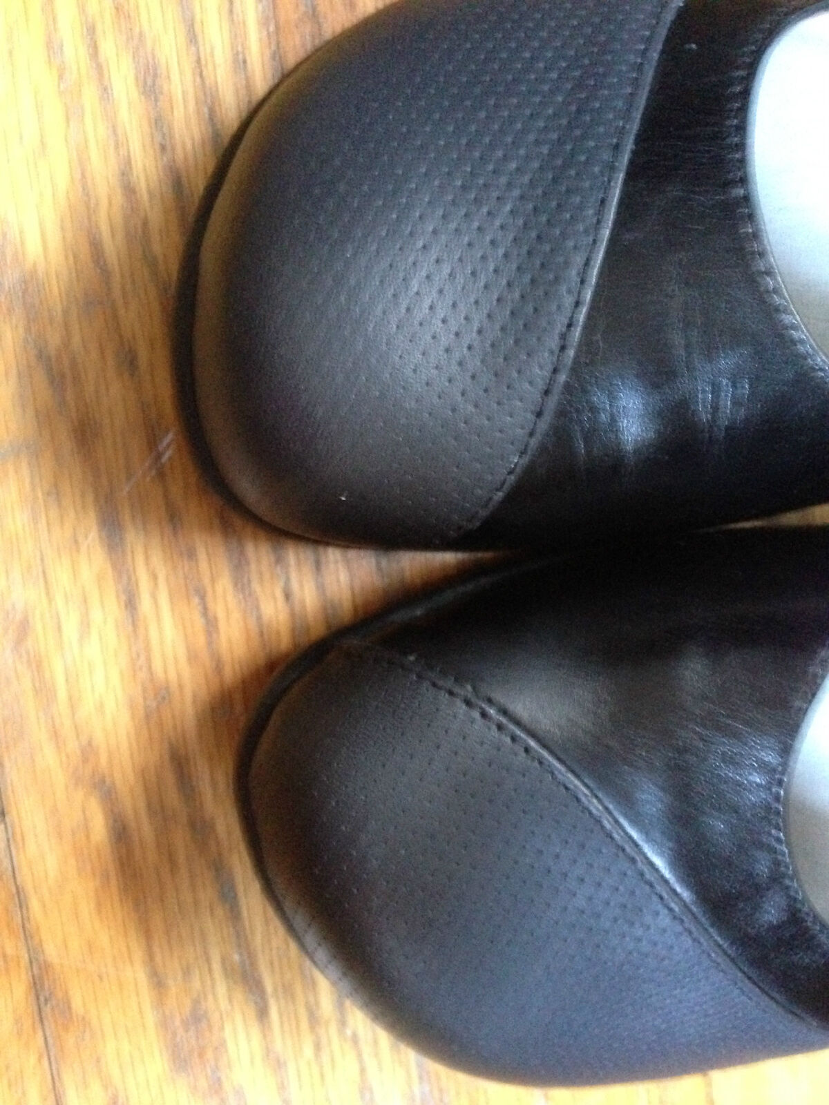 Naot 7 NWOB Women's Black Janes Leather Mary Janes Black Shoes 20bfd1
