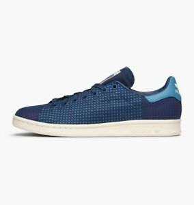 adidas-Stan-Smith-Size-4-5-Blue-RRP-90-Brand-New-CM7989-DEADSTOCK