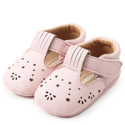 Baby Mädchen Prinzessin Lederschuhe Hollow Out Kleinkind Erste Lauflernschuhe