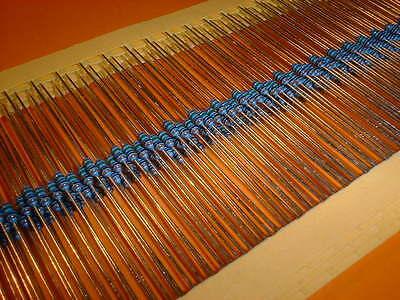 100x 750 Ohm Metallfilm Widerstand 1% Bauform 0204 Eine VollstäNdige Palette Von Spezifikationen