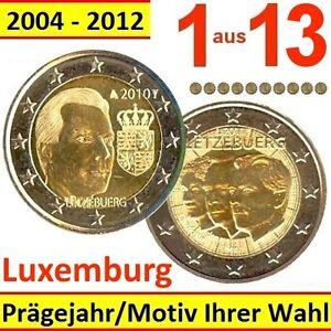 Sondermünzen Luxemburg 2 Euro Münze Mit Einem Motiv Ihrer Wahl