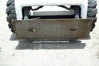 Skid Steer Adapter Plate By Bradco, Weld On,weighs 75 Lbs,high Quality,made Usa