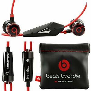 Genuine-Monster-Beats-Beats-by-Dr-Dre-iBeats-Headphones-Black-With-Pouch