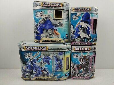 Hearty Zoids Z-builders Lot Of 4 Brachio Zilla Missile Tortoise Unenlagia Nightwise New Models & Kits Anime