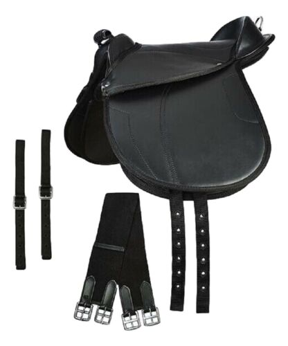 """Leathers /& Irons Elico Childs Toddler CUB Saddle Kit Size 10/""""  Includes Girth"""