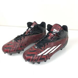 c31ddc1af Adidas Filthyspeed 2.0 Mid Fly Mens Football Cleats Black Red s83771 ...