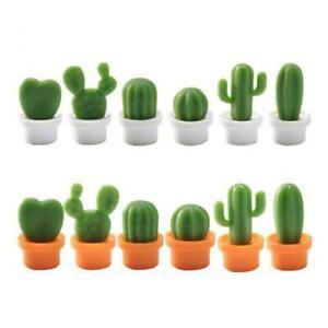 6PCs-Set-Mini-Cute-Cactus-Fridge-Magnets-Refrigerator-Magnet-NEW-U5E7