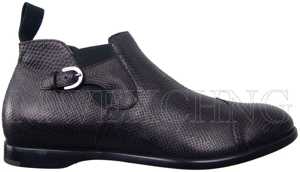 Auténtico Cesare Paciotti botas al Tobillo Zapatos para hombres en EE. UU. 6 Diseñador Italiano