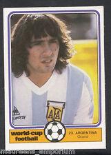 Monty Gum World Cup 1982 Football Card No 23 - Ocana - Argentina