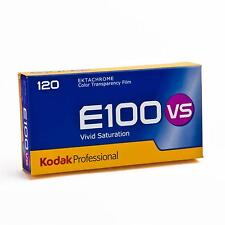 5x Kodak E100 VS Ektachrome Farbumkehrfilm Vivid Saturation Rollfilm