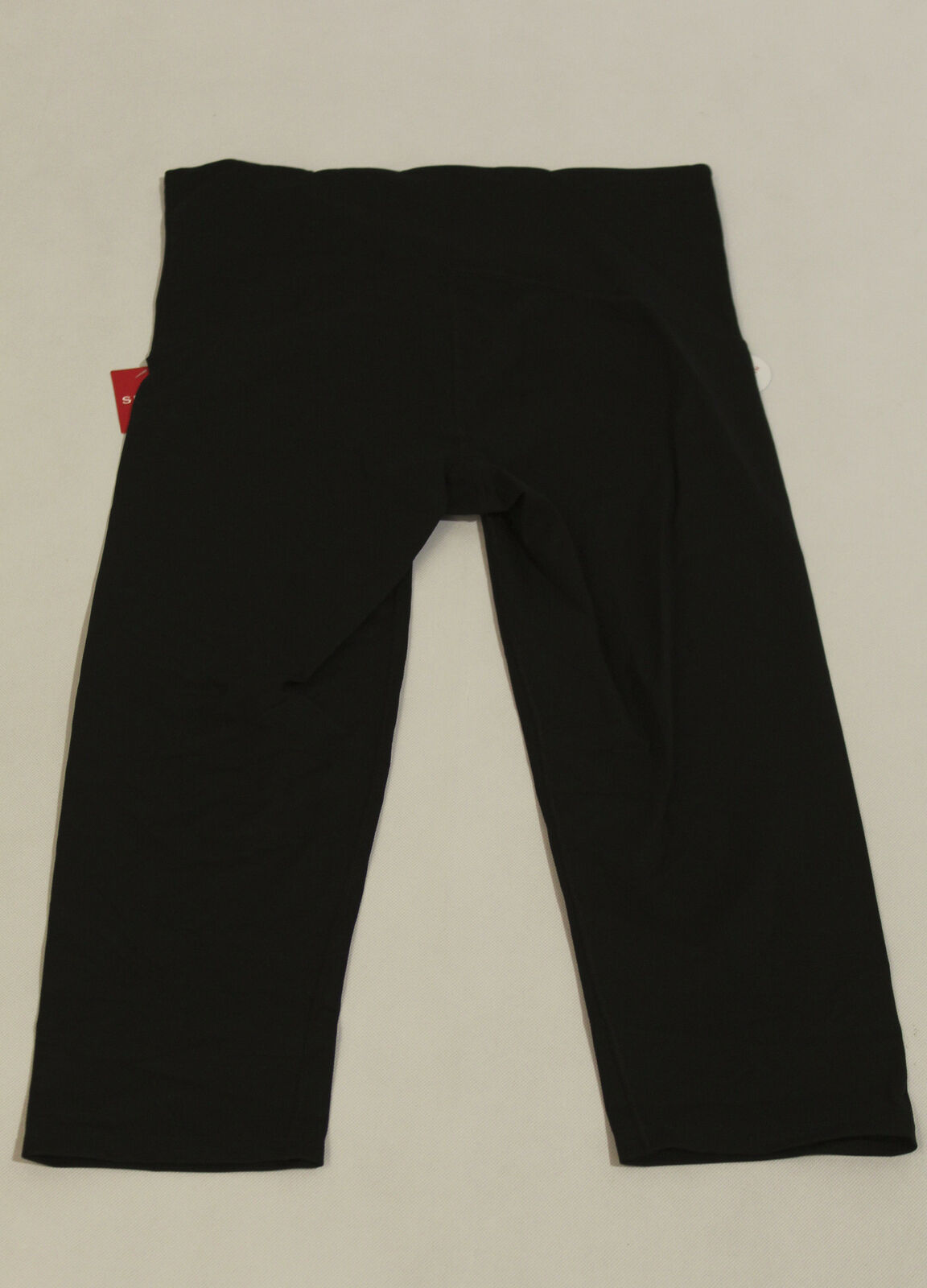 SPANX Women's Active Cropped Leggings SV3 Black Size XL NWT