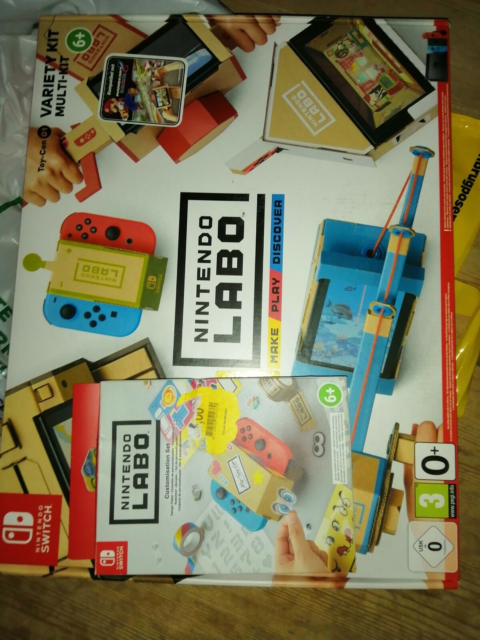 Nintendo labo 1 + stickers, Nintendo Switch, anden genre,…