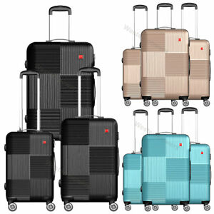 3-Piece-Hardside-Luggage-Set-with-Spinner-Wheels-Lightweight-20-039-039-24-039-039-28-039-039