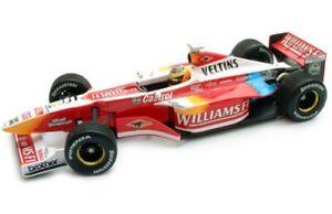 MINICHAMPS-000029-000079-010095-990096-WILLIAMS-Ralf-Schumacher-F1-models-1-43
