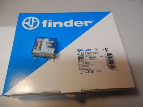 50St Finder 40.61.7.012 12VDC Hochstrom Relais 250VAC //16A Wechsler